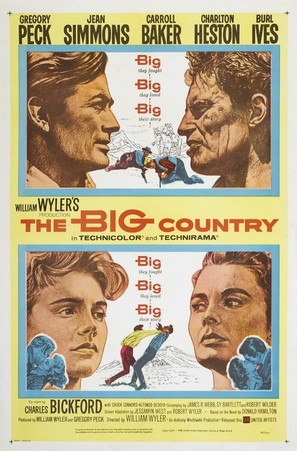 The Big Country - Movie Poster (thumbnail)
