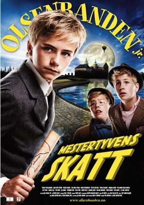 Olsenbanden jr. Mestertyvens skatt - Norwegian Movie Poster (thumbnail)