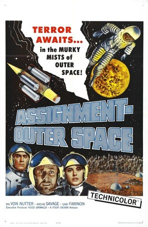 Space Men - Movie Poster (thumbnail)