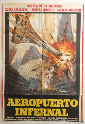 SST: Death Flight - Chilean Movie Poster (thumbnail)