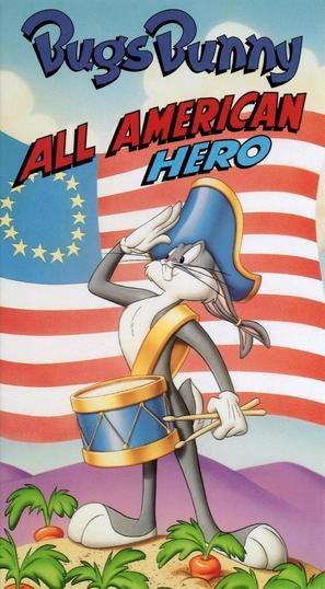 Bugs Bunny: All American Hero - VHS cover (thumbnail)