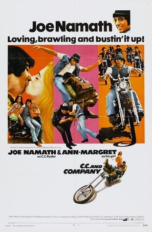 C.C. and Company - Movie Poster (thumbnail)