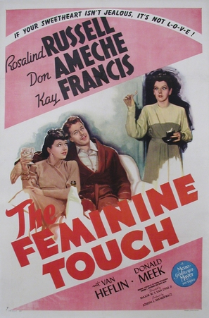 The Feminine Touch - Movie Poster (thumbnail)