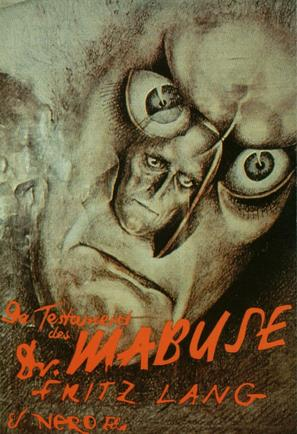 Das Testament des Dr. Mabuse - German Movie Poster (thumbnail)