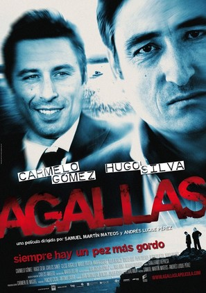 Agallas - Spanish Movie Poster (thumbnail)