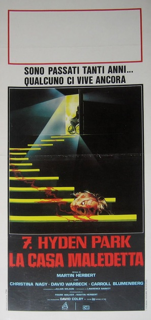 7, Hyden Park: la casa maledetta - Italian Movie Poster (thumbnail)