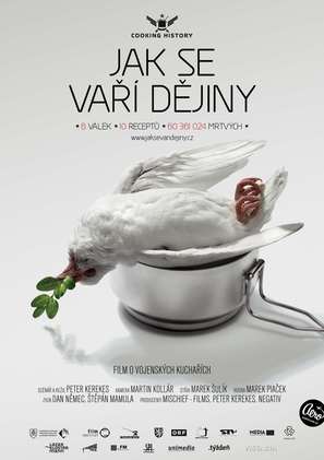 Cooking History - Czech Movie Poster (thumbnail)