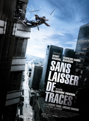 Sans laisser de traces - French Movie Poster (thumbnail)