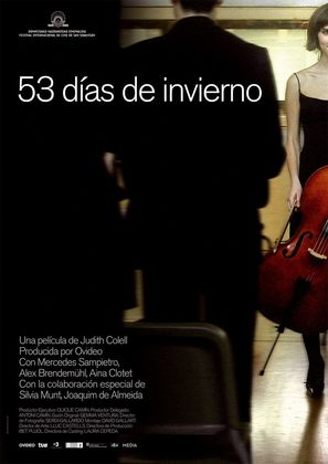 53 días de invierno - Spanish Movie Poster (thumbnail)