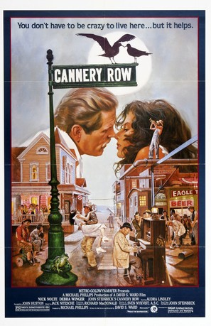 Cannery Row - Movie Poster (thumbnail)