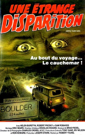 Into Thin Air - French VHS movie cover (thumbnail)