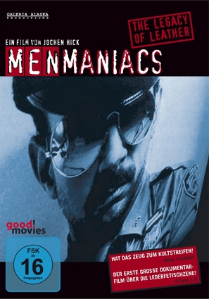 Menmaniacs - The Legacy of Leather - German Movie Cover (thumbnail)