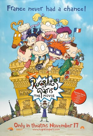 Rugrats in Paris: The Movie - Rugrats II - Movie Poster (thumbnail)