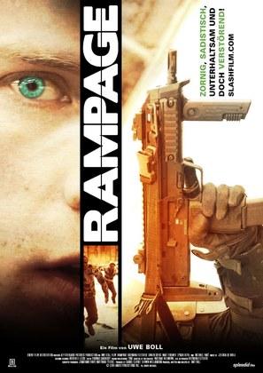 Rampage - German Movie Poster (thumbnail)