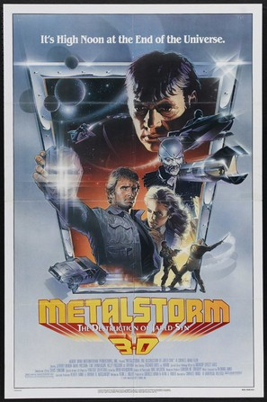 Metalstorm: The Destruction of Jared-Syn - Movie Poster (thumbnail)
