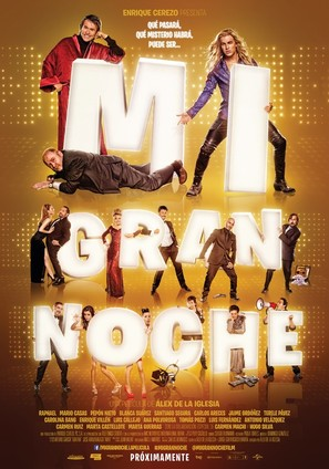 Mi gran noche - Spanish Movie Poster (thumbnail)