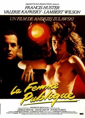 La femme publique - French Movie Poster (thumbnail)