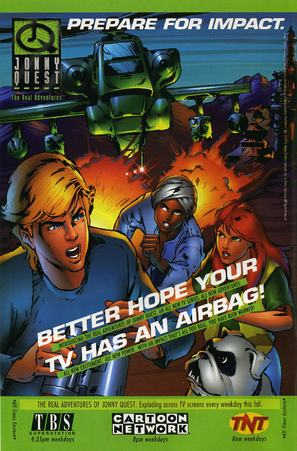 """""""The Real Adventures of Jonny Quest"""" - Movie Poster (thumbnail)"""