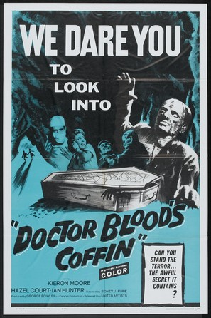 Doctor Blood's Coffin - Movie Poster (thumbnail)