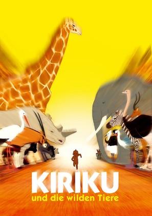 Kirikou et les bêtes sauvages - German Movie Poster (thumbnail)