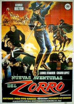 Ah sì? E io lo dico a Zzzzorro! - Spanish Movie Poster (thumbnail)