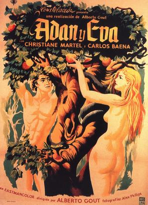 Adán y Eva - Mexican Movie Poster (thumbnail)