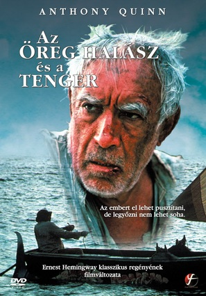 The Old Man and the Sea - Hungarian DVD cover (thumbnail)