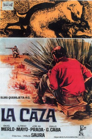 La caza - Spanish Movie Poster (thumbnail)