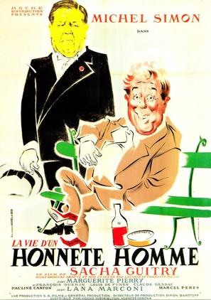 Vie d'un honnête homme, La - French Movie Poster (thumbnail)