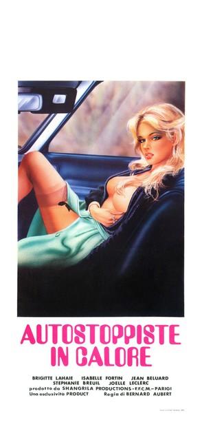 Auto-stoppeuses en chaleur - Italian Movie Poster (thumbnail)