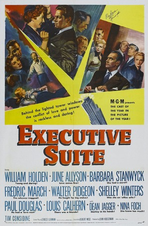 Executive Suite - Movie Poster (thumbnail)