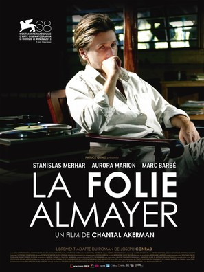 La folie Almayer - French Movie Poster (thumbnail)