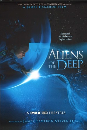 Aliens of the Deep - Movie Poster (thumbnail)