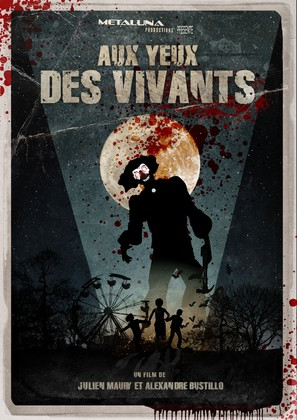 Aux yeux des vivants - French Movie Poster (thumbnail)