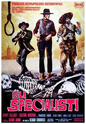 Gli specialisti - Italian Movie Poster (thumbnail)