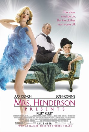 Mrs. Henderson Presents - Movie Poster (thumbnail)