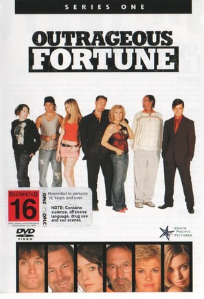 """Outrageous Fortune"" - New Zealand DVD cover (thumbnail)"