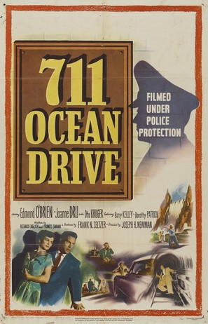 711 Ocean Drive - Movie Poster (thumbnail)