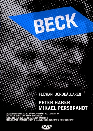 """Beck"" Flickan i jordkällaren - Swedish poster (thumbnail)"