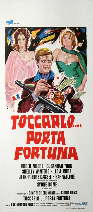 That Lucky Touch - Italian Movie Poster (thumbnail)