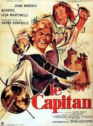 Le capitan - French Movie Poster (thumbnail)
