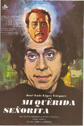 Mi querida señorita - Spanish Movie Poster (thumbnail)