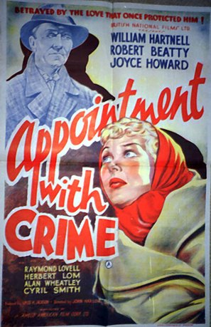 Appointment with Crime - British Movie Poster (thumbnail)