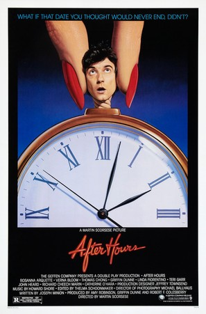 After Hours - Theatrical poster (thumbnail)