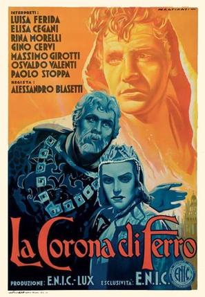 La corona di ferro - Italian Movie Poster (thumbnail)
