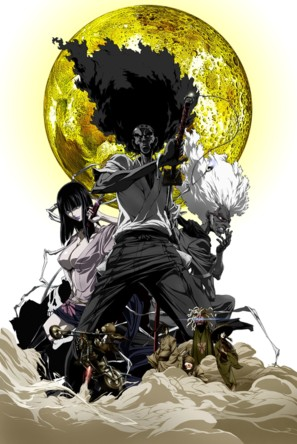 Afro Samurai - Movie Poster (thumbnail)