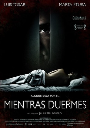 Mientras duermes - Spanish Movie Poster (thumbnail)
