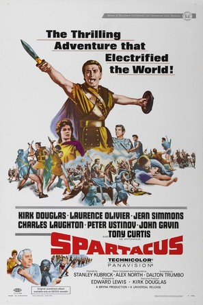 Spartacus - Movie Poster (thumbnail)