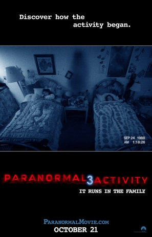 Paranormal Activity 3 - Movie Poster (thumbnail)