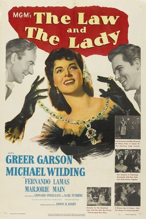 The Law and the Lady - Movie Poster (thumbnail)